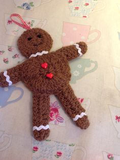 Biscuit shaped gingerbread man!