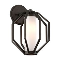 Buy the Troy Lighting Textured Graphite Direct. Shop for the Troy Lighting Textured Graphite Boundary 1 Light Wide Hand Forged LED Outdoor Wall Sconce with Opal Shade and save.