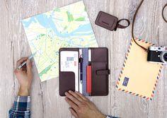 Travel Organizer set Chocolate - LOST & FOUND accessoires