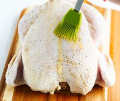 This whole oven-roasted chicken recipe makes a perfect family dinner, and there's plenty of gravy to go around! Oven Roasted Whole Chicken, Perfect Roast Chicken, Oven Chicken, Stuffed Whole Chicken, Raw Chicken, Ina Garten Roast Chicken, Chicken Marinade Recipes, Chicken Marinades, Crockpot Recipes