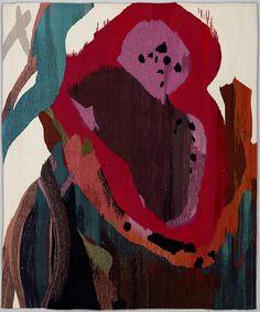 """Watermelon Man Tapestry (2011), by Maj-Britt Mobrand, 58"""" x 48"""""""