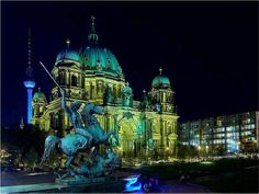 Berlin, the capital of Germany World Cities, Best Cities, Vacation Destinations, Vacation Trips, Vacation Ideas, Places Around The World, Around The Worlds, Belle Villa, Beautiful Places To Travel