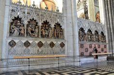 Clôture de choeur, Amiens, 1520's
