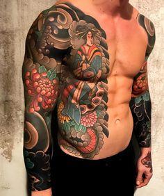 Fotos das melhores tatuagens coloridas masculinas e femininas. Tattoos cheias de cor para inspirar ou simplesmente para você apreciar a arte. Escolha suas preferidas!