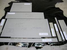 Proceso de corte; acomodación de moldes