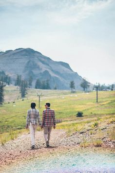 Wes Anderson Inspired Wedding at Squaw Valley