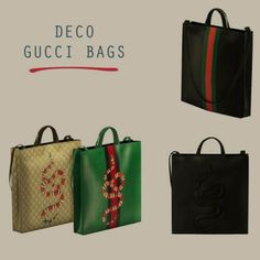 Leo Sims - Deco Bags for The Sims 4