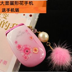 Flip 2013 flower mobile phone mini child women's fashion mobile phone qq Flower Mobile, Flip Phones, Xmas Presents, Old School, Christmas Gifts, Girly, Women's Fashion, Child, Mobile Phones