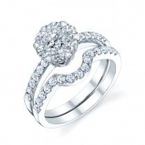 Oceanus Ring Setwww.bridalrings.com Beautiful selection of diamond engagement, wedding, and fine jewelry. Contact us for any inquiries: 213.627.7620 - remember to mention Pinterest!