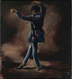 Lynette Yiadom-Boakye, Foreign Instruction, 2011, Oil on canvas, 178 x 200 cm