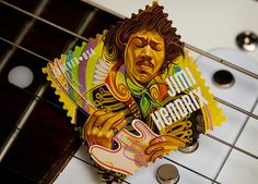 How cool is his new Jimi Hendrix stamp? Cool enough to make me want to become a philatelist | Design features #mustard yellow too | Rolling Stone