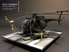 OH-6 Little Bird - 1:48 by Daz