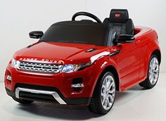 2015 Licensed Range Rover Evoque 12v Kids Ride on Power Wheels Battery Toy Car,Remote control,Lights,Music-Red
