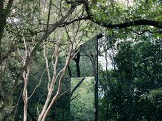 Mexican architect Tatiana Bilbao has hidden part of a holiday home inside a Monterrey forest by cladding it in mirrored glass. House Of Mirrors, Bilbao, Residential Architecture, Architecture Design, Contemporary Architecture, Amazing Architecture, Valley Landscape, Small Buildings, House And Home Magazine