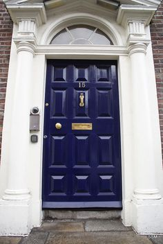 1000 images about front door on pinterest front doors for Navy blue front door