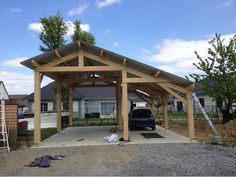Cheap Wood Shed - Practical Diy Shed Plan Products Uncovered - Wheaur Carport Sheds, Rv Carports, Carport Plans, Carport Garage, Wood Shed Plans, Diy Shed Plans, Barns Sheds, Rv Shed Ideas, Pole Barn Garage