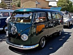 VW Kombi Van. I've wanted one all my life.