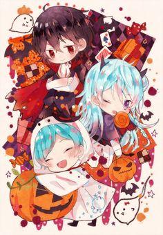 埋め込み Anime Sisters, Anime Siblings, Cute Anime Chibi, Kawaii Anime, Hot Anime Guys, Anime Love, Episode Backgrounds, Anime Halloween, Matching Profile Pictures