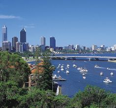Perth, Australia -- Been there twice. Would love to take the kids to Australia one day, rent a four-wheel drive and tour around...