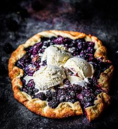A la mode is the only way. @alenafoodphoto's beautiful mixed berry galette from our Dessert of the Day cookbook! Show us how you're cooking, baking and living with WS favorites using #mywilliamssonoma.