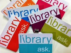 New badges for library staff, from the Columbia College, Chicago library blog