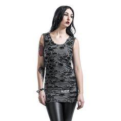Poizen Industries  Kurzes Kleid  »Shred«   Jetzt bei EMP kaufen   Mehr Rockwear  Kurze Kleider  online verfügbar ✓ Unschlagbar günstig!