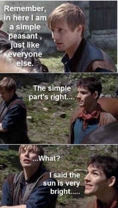 Favorite Arthur and Merlin moments                                                                                                                                                      More