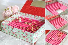 How to DIY Paper Ring Box Organizer
