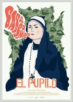 mira el poster para 'El Pupilo' de Babasonicos dibujado por @HolaMaybe @Aurora Camacho