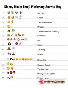 Team Games, Group Games, Disney Games, Disney Movies, Emoji Quiz Games, 3rd Grade Math Worksheets, Emoji Movie, Movie Titles, Marketing Ideas