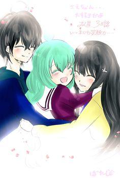 笑顔, Rokuro, Benio and Sae