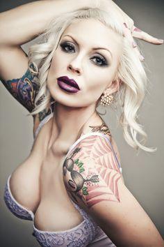 Tangy Tattoo Tart #SchoolGirlTart