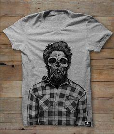 Skeleton lumberjack