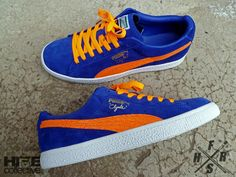 Puma Clyde Blue & Orange....I need this shoe