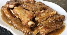 Costillas de cerdo en salsa      Para la comida de hoy vamos a preparar costillas de cerdo en salsa, una comida económica y si las costi...