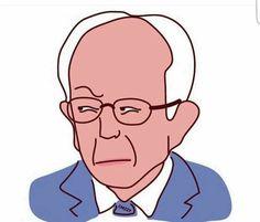 Bernie Side Eye