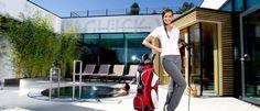 Wellness + Golf = ein perfekter Urlaub Golf, Wellness, Spaces, Vacation, Turtleneck