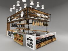 Attic meat district on Behance