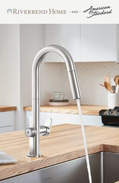 For over 130 years American Standard has provided products for your kitchen and bath that have an unmatched legacy of quality and innovation. Riverbend Home is proud to present you with an incredible selection of their best products. Kitchen Faucets, Sink Faucets, Kitchen And Bath, Shower Plumbing, Plumbing Fixtures, American Standard, Bathroom Accessories, Innovation, The Incredibles