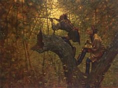 Doug Hall's Huckleberry Forest Studio - The Vantage Point, Sold (http://www.doughallart.com/the-vantage-point/)
