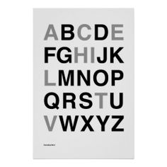 Helvetica Bold Posters
