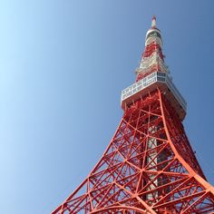 The Tokyo Tower, a picture from new years eve 2014