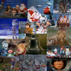 Rankin/Bass Productions Christmas Specials...Watched these every year, and still do. <3