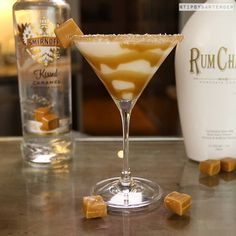 Salted Caramel Martini https://www.facebook.com/TipsyBartender/videos/1350989574968365/