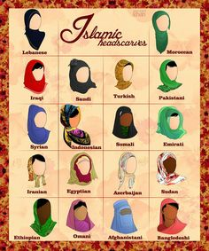 The hijab has become a symbol of Islam, and is almost inseparable from Islam. The origin of the hijab and its variants (the burqa and niqab), however, lie before the advent of Islam. Islamic Fashion, Muslim Fashion, Modest Fashion, Hijab Fashion, Fashion Fashion, Burka Fashion, Fashion Styles, Niqab, Hijab Stile