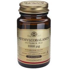 Metilcobalamina Vitamina B12 1000g (30 tablete) Holland And Barrett, Vegan Sugar, Fish And Meat, Fodmap Diet, Low Fodmap, Omega 3, 30, Candle Jars, Vitamin B12