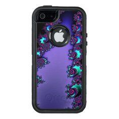 Purple Mandelbrot #Fractal Design #OtterBox #iPhone 5/5s/SE Case  #zazzle