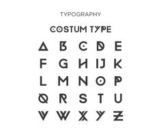 Custom Type by Mustafa Saifee, via Behance