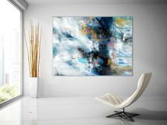 Extra Large Wall Art Palette Knife Artwork Original Painting,Painting on Canvas Modern Wall Decor Contemporary Art, Abstract Painting Large Abstract Wall Art, Large Painting, Abstract Canvas, Canvas Art, Canvas Paintings, Office Wall Decor, Modern Wall Decor, Extra Large Wall Art, Large Art