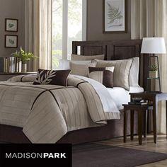 Madison Park Dune 7-piece Queen-size Comforter Set